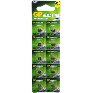 GP 164 LR620 1.5V Alkaline Batteries (10 Pack)
